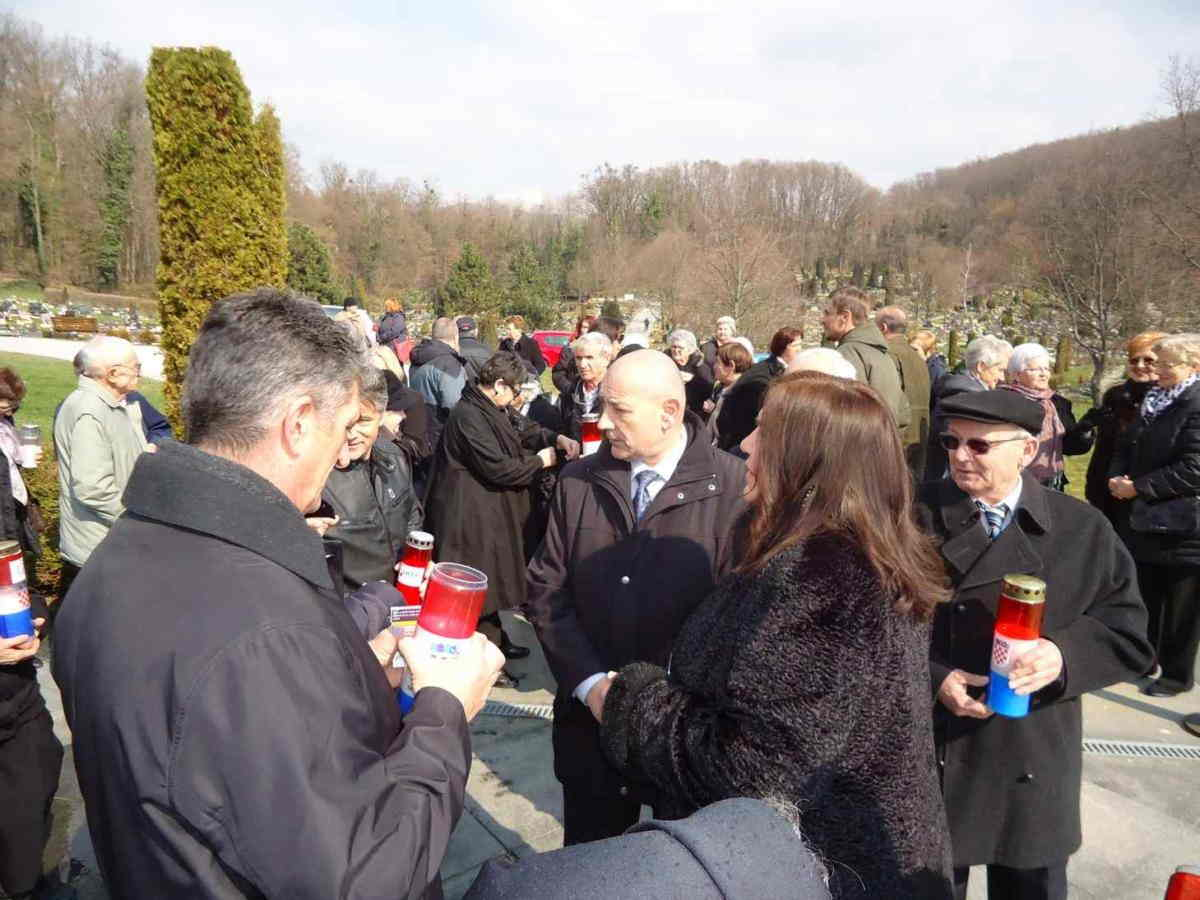 Uskršnji susret članova obitelji zatočenih i nestalih hrvatskih branitelja