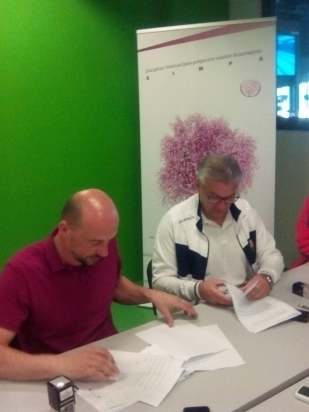Potpisan Ugovor o sportskim aktivnostima