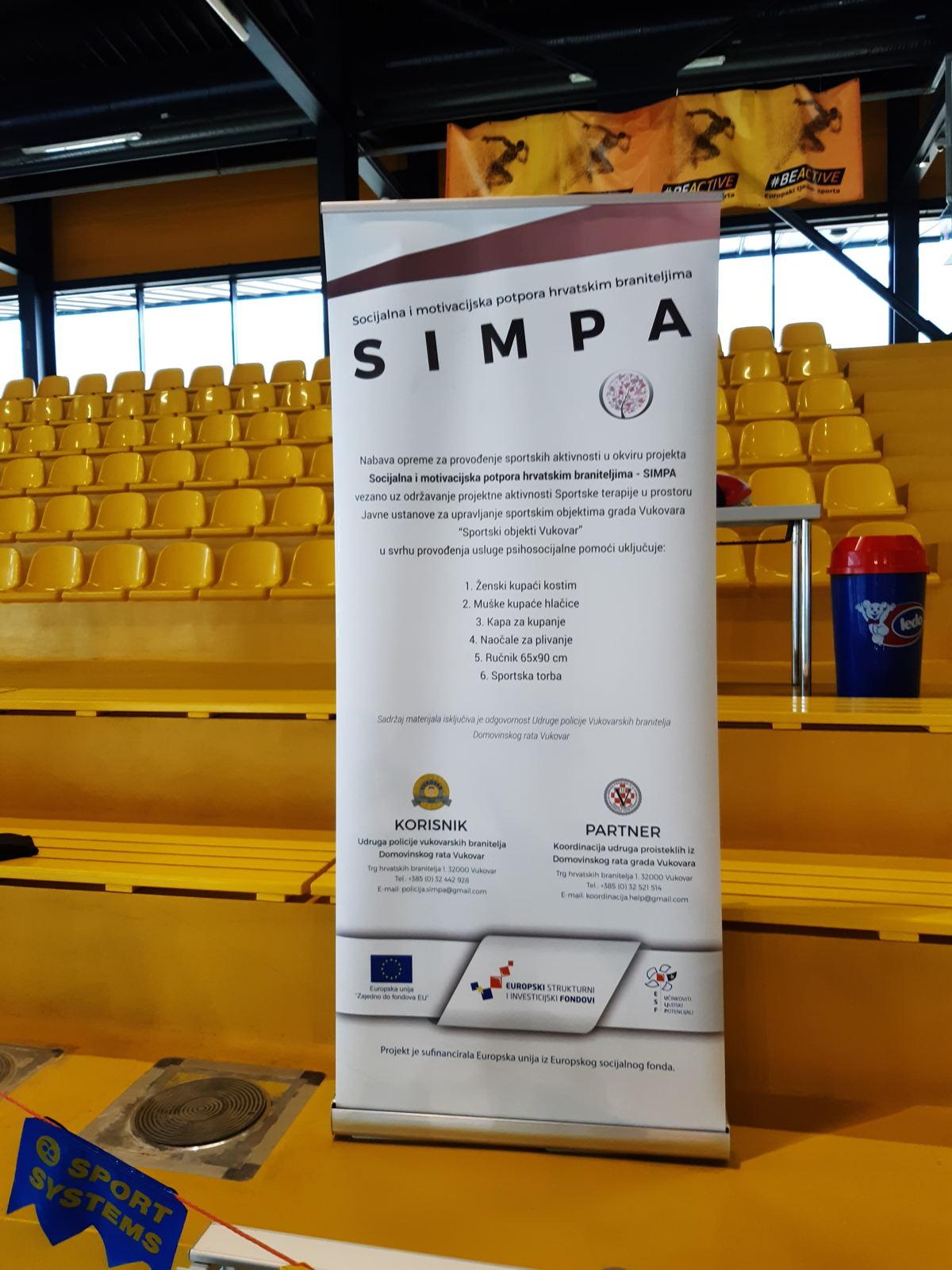 Sportske aktivnosti projekta SIMPA
