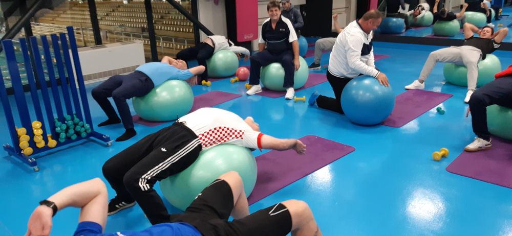Funkcionalni trening - sportska aktivnost projekta SIMPA