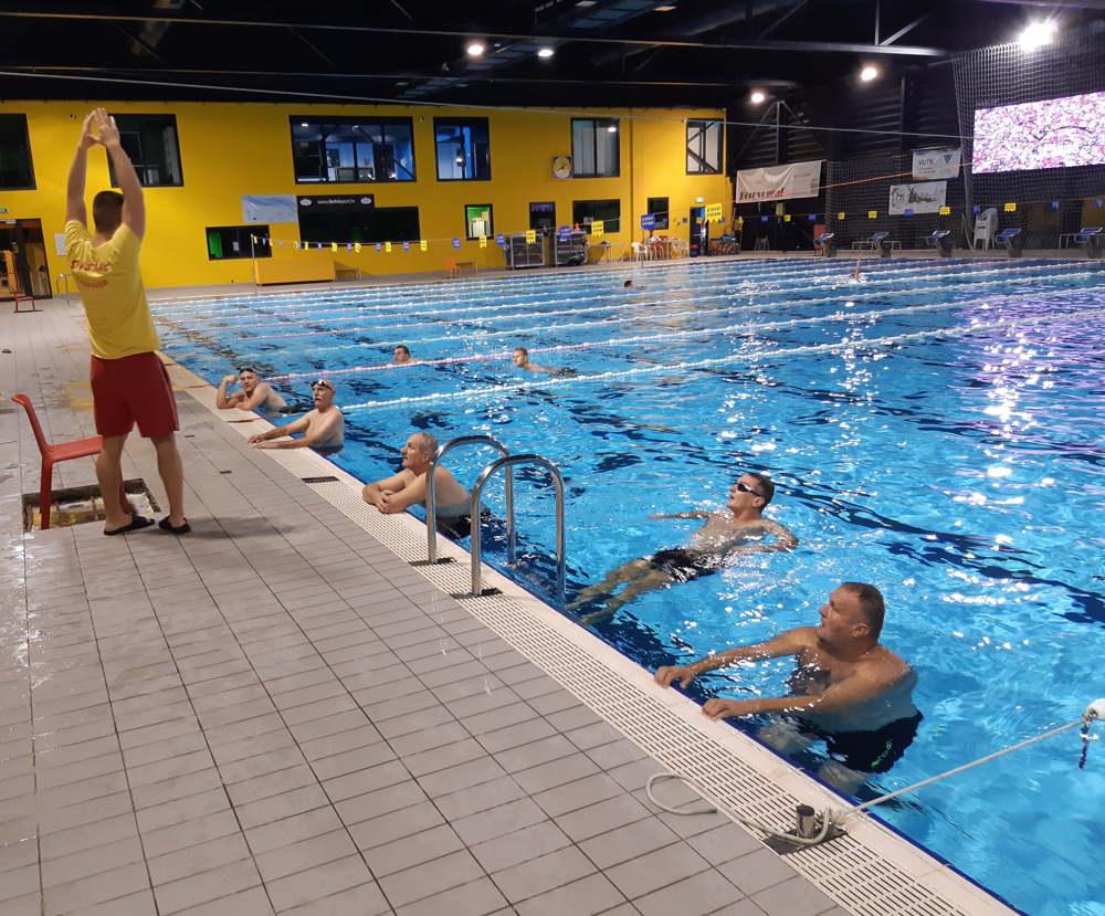 Rekreativno plivanje - sportska aktivnost projekta SIMPA