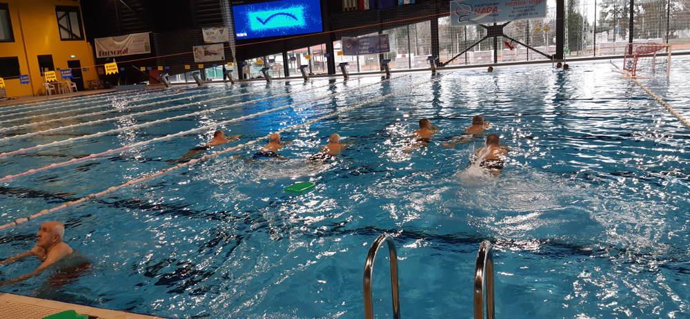 Plivanje - sportska aktivnost projekta SIMPA